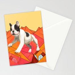 Geometric Boston Stationery Cards