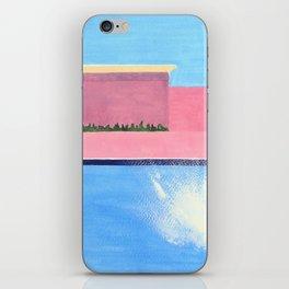 Splash! after David Hockney iPhone Skin