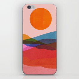 Abstraction_OCEAN_Beach_Minimalism_001 iPhone Skin