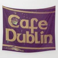 irish Wall Tapestries featuring Irish Pub by Eirin Wie Haveland