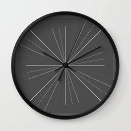 Fission Wall Clock