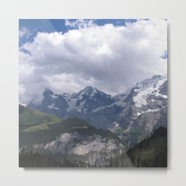 Orge, Monk, and Maiden Metal Print