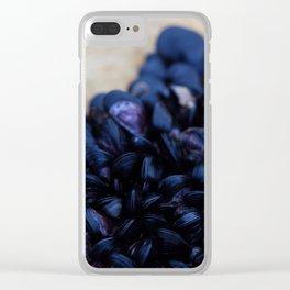Dark Shore Clear iPhone Case
