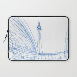 BluePrints | CNTower - Toronto Laptop Sleeve