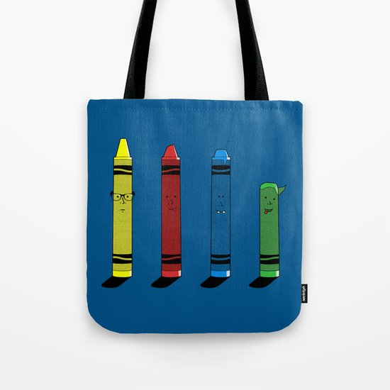 Not The Sharpest Crayon Tote Bag
