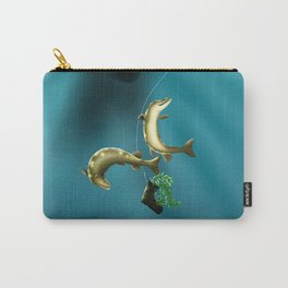 Mischievous Pikes Carry-All Pouch
