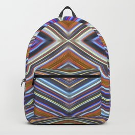 Wild Wavy X Lines III Backpack