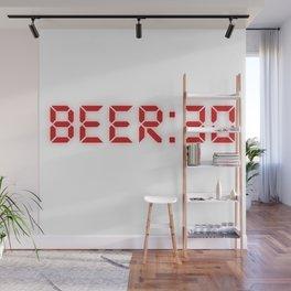 Half Past Beer Wall Mural