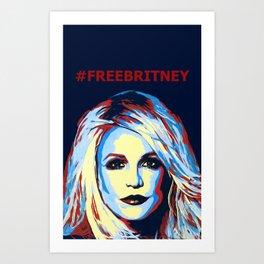 freebritney Art Print