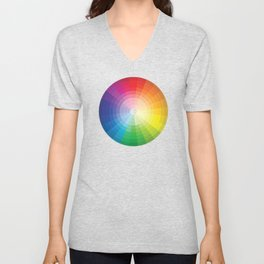 Color Wheel Unisex V-Neck