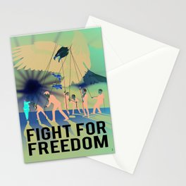 Fight for Freedom Stationery Cards