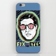 Fix Your Eyes! iPhone & iPod Skin