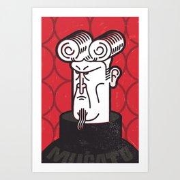 Herr Mugatu Art Print