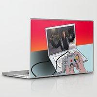 game Laptop & iPad Skins featuring  game by mark ashkenazi