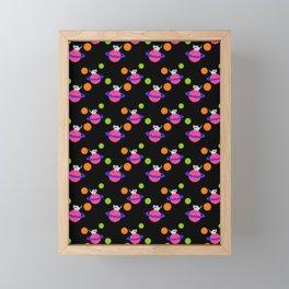 Planet Chibi Framed Mini Art Print