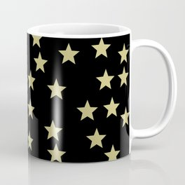 Golden Stars Coffee Mug