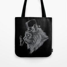 High Class Cat Tote Bag