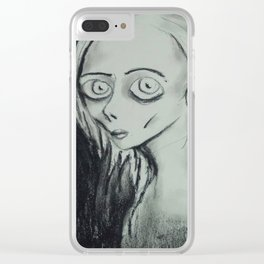 Emotionally Starving Clear iPhone Case