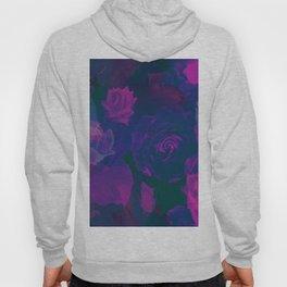 Pink & Purple Roses Hoody