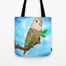 Skittles the Love Bird Tote Bag