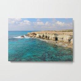 Mediterranean Sea Metal Print