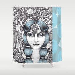 Maiden of Midgard Shower Curtain