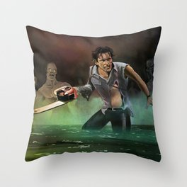 Ash in the Darkness Throw Pillow