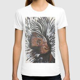 Porcupine by Noelle's Art Loft T-shirt