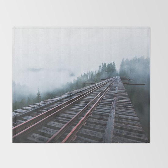 Abandoned Railroad Vance Creek Bridge - Olympic National Park, Washington by rowellos
