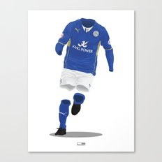 Leicester City 2013/14 - Championship Champions Canvas Print