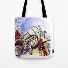monday dead Tote Bag