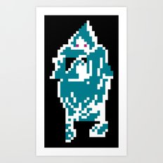 I Am The Ghost Art Print