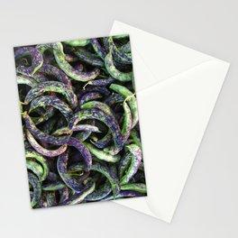 kipfler beans Stationery Cards
