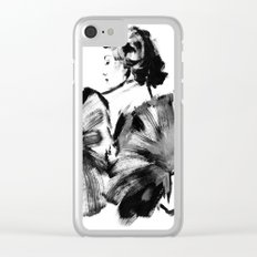 Real Lady Clear iPhone Case