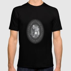 Framed family portrait Black SMALL Mens Fitted Tee