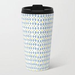 Blue Arlequin Travel Mug