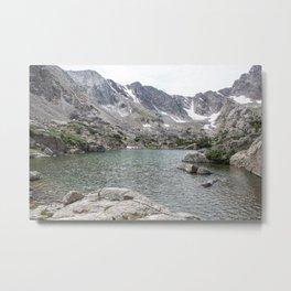 Rocky Mountain National Park - Sky Pond Metal Print