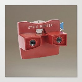 STYLE MASTER VIEWER Canvas Print
