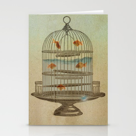 flying fish Stationery Cards