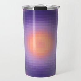 Ripple I Pixelated Travel Mug