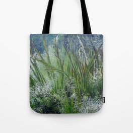 Grass Whispers, the other side of monsoon. Tote Bag