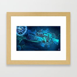 Machine Gun 7 Framed Art Print