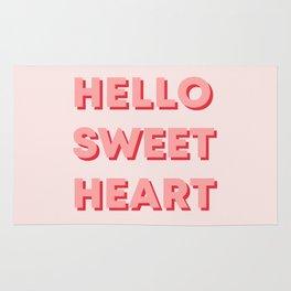 HELLO SWEETHEART Rug