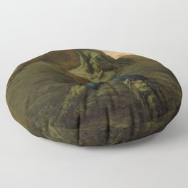 The Sower - Digital Remastered Edition Floor Pillow