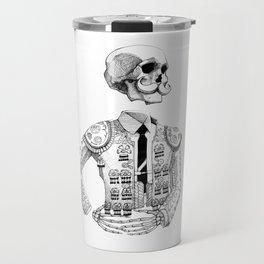 Matador skeleton ink Travel Mug
