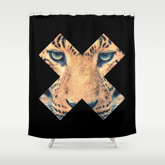 Leopard Shower Curtain By Zavu