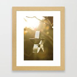 Star Shine Framed Art Print