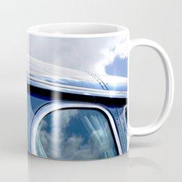 VINTAGE - Cool Vintage Classic Blue Bus Coffee Mug