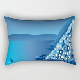 Positano by Night Rectangular Pillow