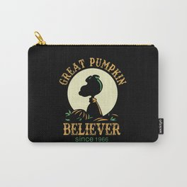 Great Pumpkin Believer Carry-All Pouch